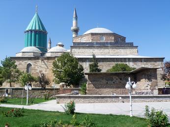 Mevlanovo muzeum ve městě Konya