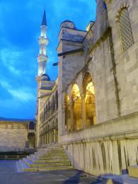 Modrá mešita nás vítá v Istanbulu