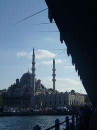 Rybaření uprostřed Istanbulu