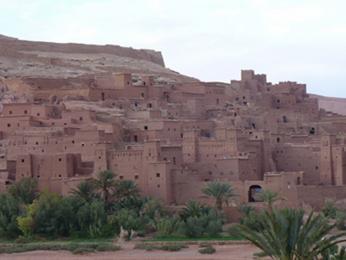 Ksar Aït-Benhaddou, známá marocká filmová kulisa