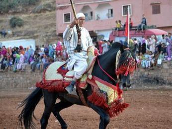 Berberské oslavy La Fantasia