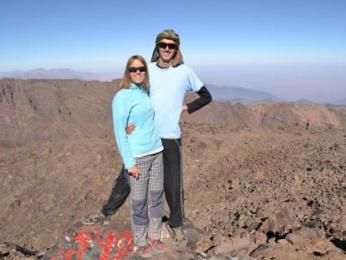 Jedna vrcholovka z Jebel Toubkal