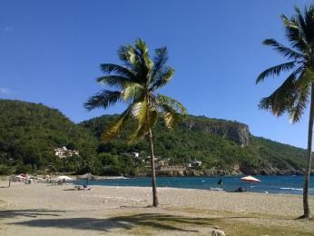 Odpoledne na karibské pláži Siboney