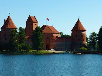 Vodní hrad Trakai