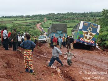 V období dešťů se cesta může protáhnout až na dvakrát tak déle