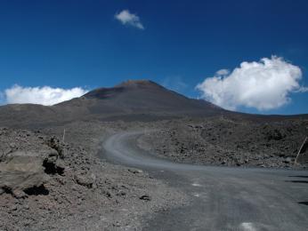 Pěší výstup na Etnu