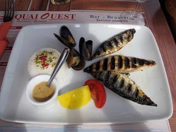 Ochutnávka bretaňské kuchyně - ryby, mořské plody asýr