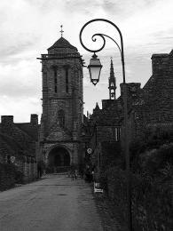 Středověké uličky Locronanu