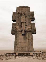 Památník padlých Bretonců během 2.světové války