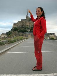 A jako třešnička - Mont Saint-Michel