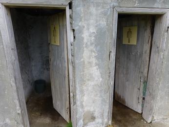 Místní turecké záchody