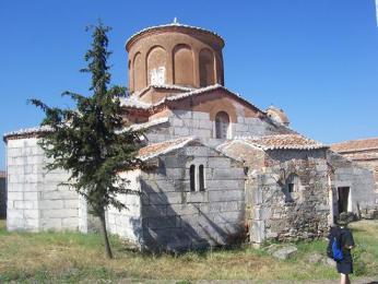Apollonia – klášter u našeho tábořiště