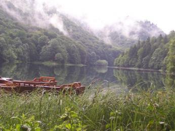 Černá Hora – Biogradské jezero, místo našeho prvního stanování