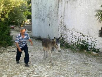 V uličkách vesničky Qeparo Fushë, kde se zastavil čas