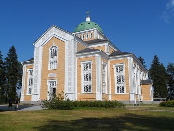 Kostel Kerimäki