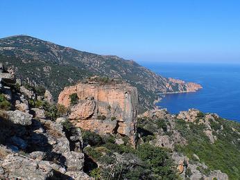 Korsická panoramata