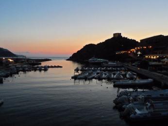 Západ slunce v Portu