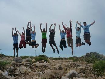 Vítězný výskok na Monte Calva