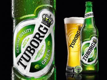 Světoznámá značka piva Tuborg