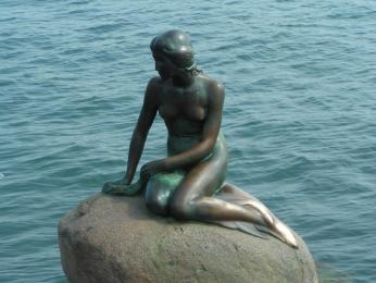 Malá mořská víla - symbol Kodaně