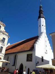 Kostel svatého Ducha má nejstarší zvonici vEstonsku