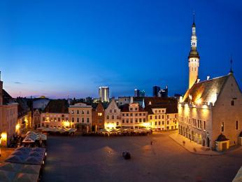 Náměstí Raekoja Plats je centrem Starého města už od 11.století