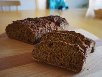Nejpopulárnější finský chléb je tmavý žitný chléb ruislepä