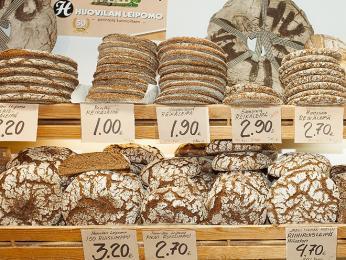 Finský žitný chleba