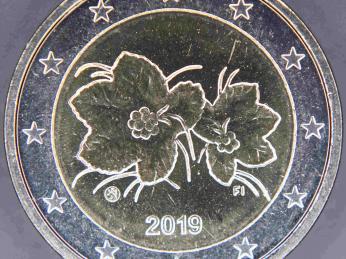 Finská euromince zobrazuje na zadní straně morušku