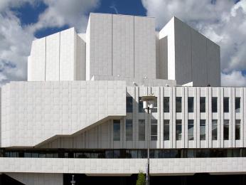 Koncertní síň Finlandia Talo od Alvara Aalta