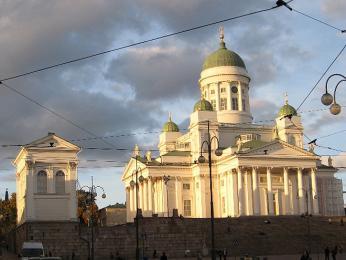 Helsinská katedrála na Senátním náměstí