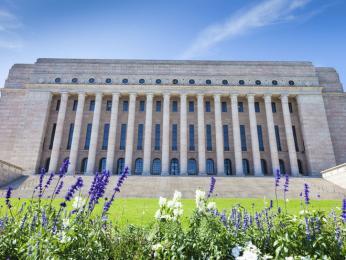 Budova finského parlamentu