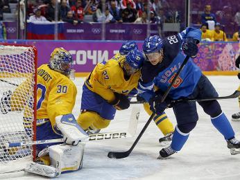 Hokejové zápasy se švédským sousedem jsou pro Finy velkou událostí