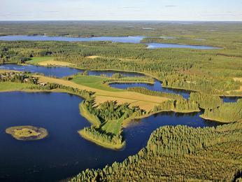 Jezerní oblast ve Finsku