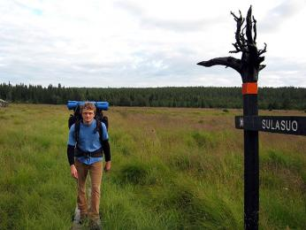 Ve Finsku jsou tisíce kilometrů značených turistických cest