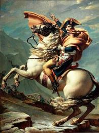 Francouzský vojevůdce Napoleon Bonaparte