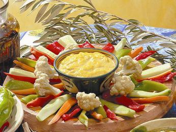 Aïoli - česneková omáčka vhodná krybím pokrmům