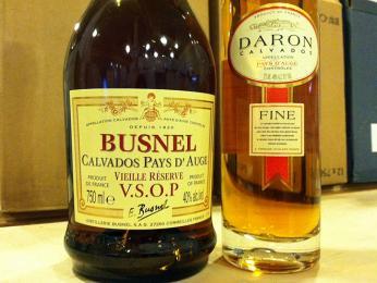 Calvados - jablečná brandy