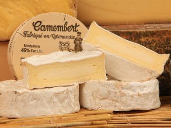 Camembert je proslulý sýr pocházející zNormandie