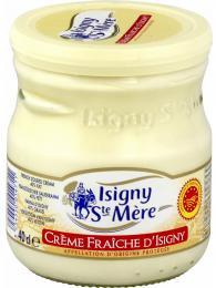 Crème fraîche, krémovější améně kyselá verze zakysané smetany
