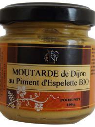Dijonská hořčice je známá pikantní chutí