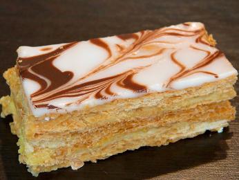 Mille-feuille - vanilkové nebo pudinkové řezy