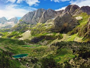 Více jak polovinu území Albánie tvoří hory