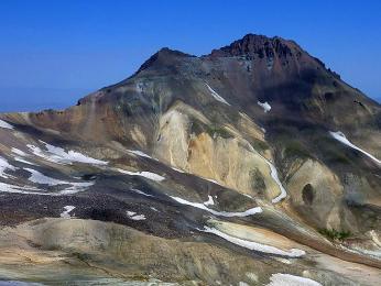 Pohled na nejvyšší horu Aragac