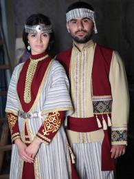Tradiční národní arménskéoblečení
