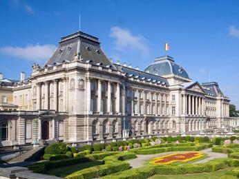 Královský palác belgického krále vhlavním městě Bruselu