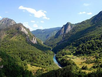 Kaňon řeky Tary