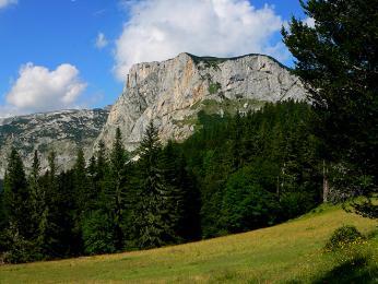 Stolová hora vNP Durmitor
