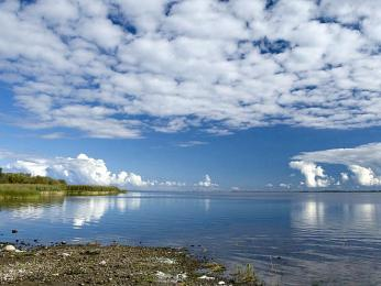 Čudsko-pskovské jezero je největší vEstonsku