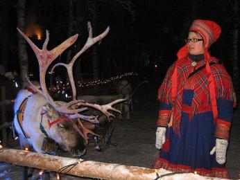 Sámové žijící na severu vLaponsku
